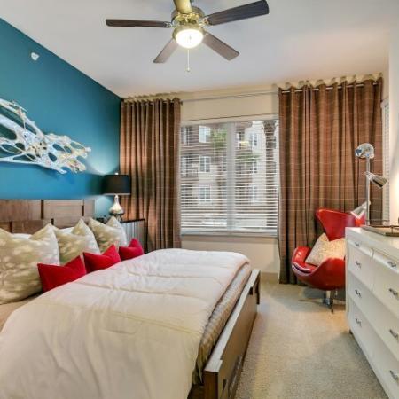 Luxurious Bedroom | Apartments in Las Colinas, TX | Alexan Las Colinas