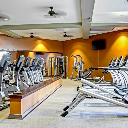 Fitness Center | Station 40 Apartments