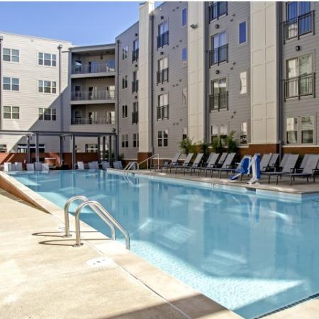 Sparkling Pool | Station 40 Apartments