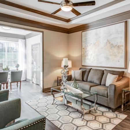 Luxurious Living Room | Apartment Homes in Austin, TX | Hyde Park at Wells Branch