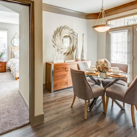 Spacious Dining Room | Apartment in Austin, TX | Hyde Park at Wells Branch