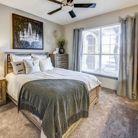 Spacious Bedroom | Austin TX Apartment Homes | Hyde Park at Wells Branch