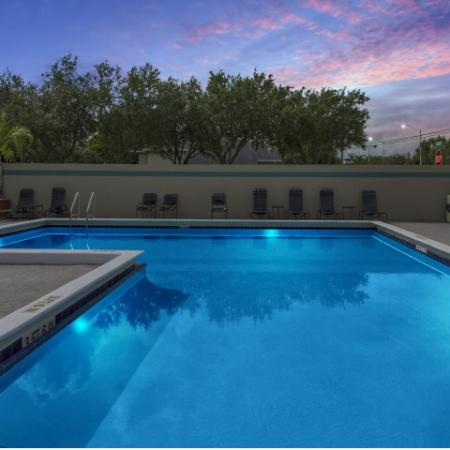 Sparkling Pool | Apartments for rent in Lauderhill, FL | Heron Landing