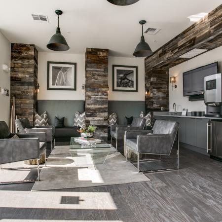 Spacious Resident Club House | Apartment in Dallas, TX | Loft + Row
