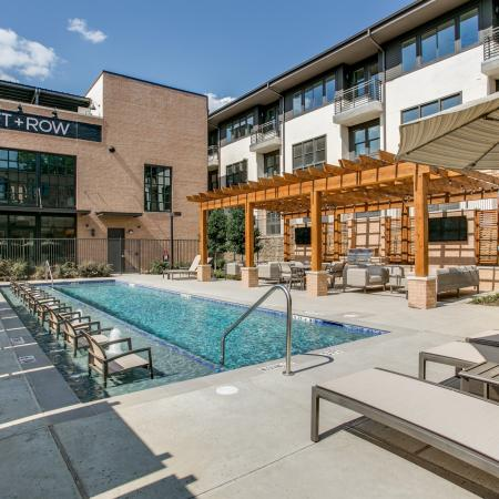 Sparkling Pool | Apartments for rent in Dallas, TX | Loft + Row