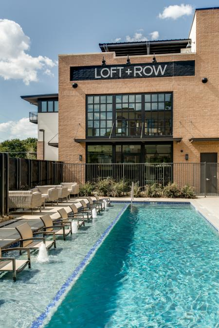 Year Round Swimming Pool | Apartment in Dallas, TX | Loft + Row
