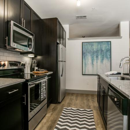 Spacious Kitchen   Apartments for rent in Dallas, TX   Loft + Row