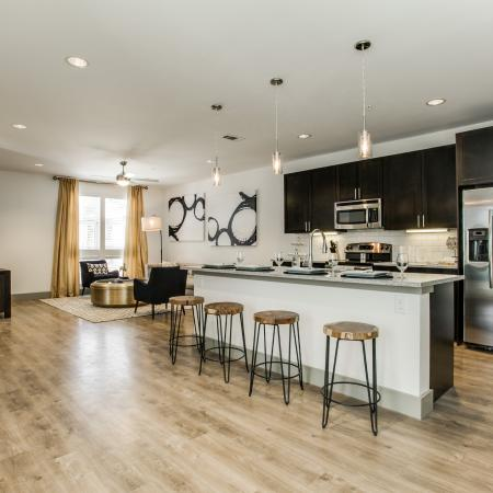 Elegant Kitchen   Apartments in Dallas, TX   Loft + Row