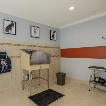 Pet Spa Salon for Pet Friendly Apartment Community in Kissimmee, FL l Monterey Pointe