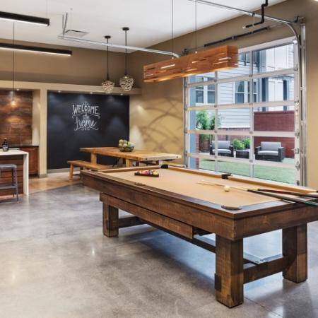 Community Game Room | Apartments for rent in Nashville, TN | Station 40