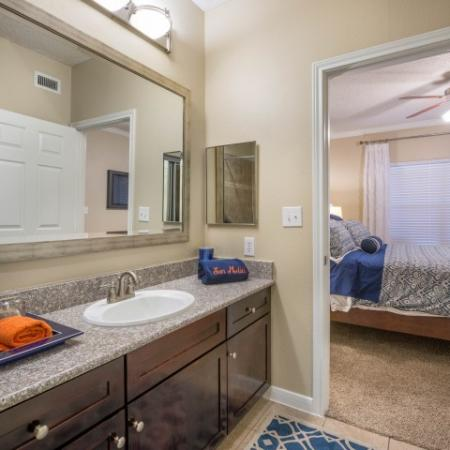 Spacious Master Bathroom   Apartments Homes for rent in Houston, TX   Melia Medical Center