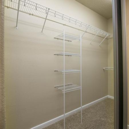 Walk-in closets in each unit   Houston TX Apartments For Rent   Melia Medical Center