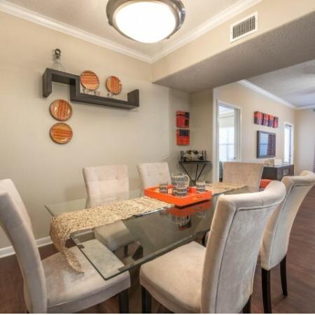 Elegant Dining Room   Houston TX Apartments For Rent   Melia Medical Center