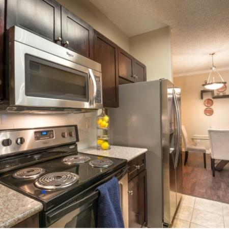 Residents Cooking in the Kitchen   Apartments Homes for rent in Houston, TX   Melia Medical Center