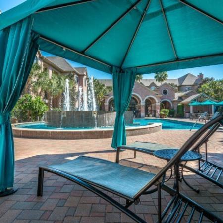 Resident Sun Deck   Houston TX Apartment For Rent   Melia Medical Center
