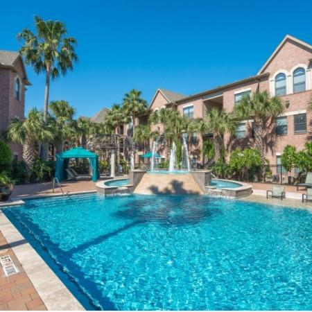 Sparkling Pool   Apartments for rent in Houston, TX   Melia Medical Center