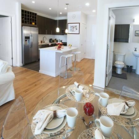 Elegant Living Room | Apartments for rent in Hoboken, NJ | 1125 Jefferson