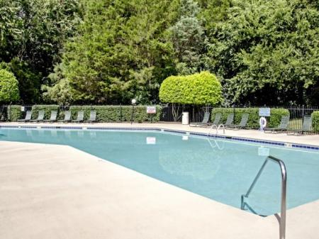 Sparkling Pool | Apartments for rent in Charlotte, NC | Berkshire Place