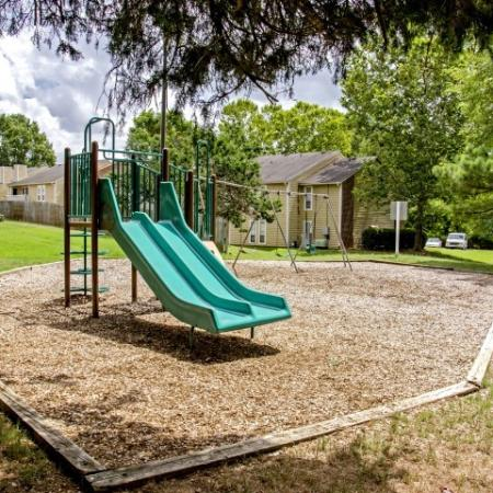 Community Children's Playground | Apartment Homes in Charlotte, NC | Berkshire Place