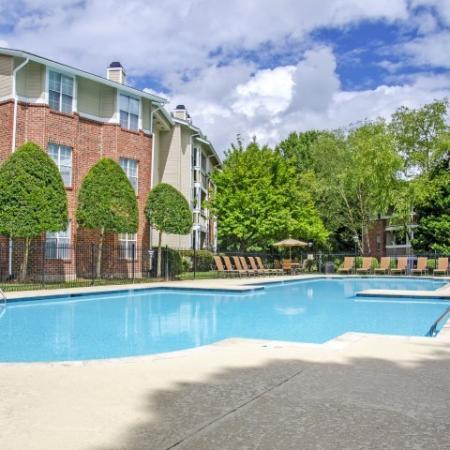 Sparkling Pool | Apartments for rent in Charlotte, NC | McAlpine Ridge Apartments