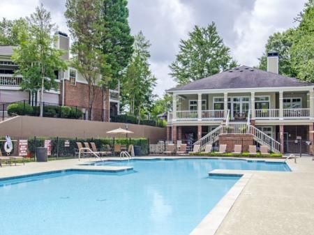 Year Round Swimming Pool | Apartment in Charlotte, NC | McAlpine Ridge Apartments