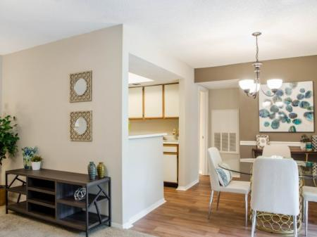Luxurious Living Room | Apartment Homes in Charlotte, NC | McAlpine Ridge Apartments
