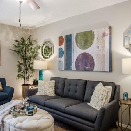 Spacious Living Area | Apartments Homes for rent in Charlotte, NC | McAlpine Ridge Apartments