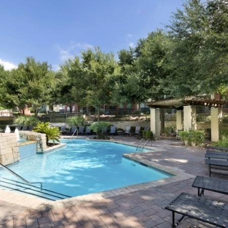 Sparkling Pool | Apartments for rent in San Antonio, TX | Broadstone at Colonnade