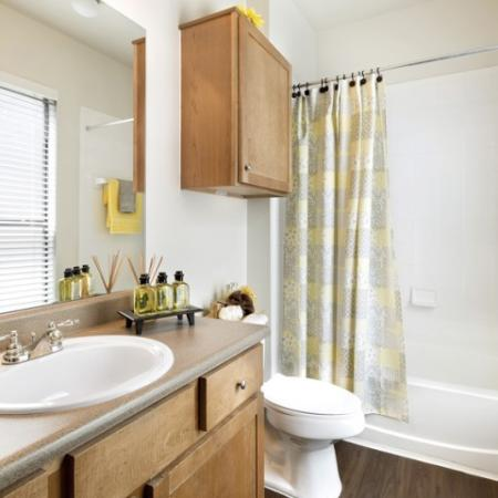 Spacious Master Bathroom | Apartments Homes for rent in San Antonio, TX | Broadstone at Colonnade