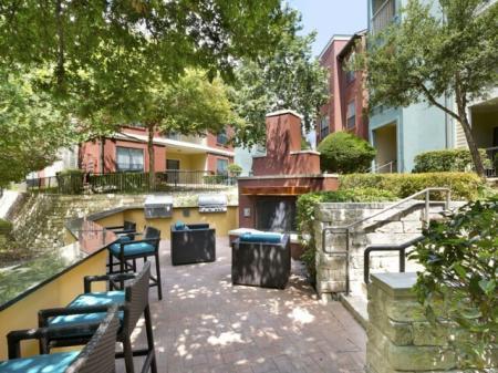 Resident Sun Deck | San Antonio TX Apartment For Rent | Broadstone at Colonnade