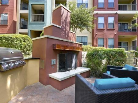 Resident Fire Pit | Apartments Homes for rent in San Antonio, TX | Broadstone at Colonnade