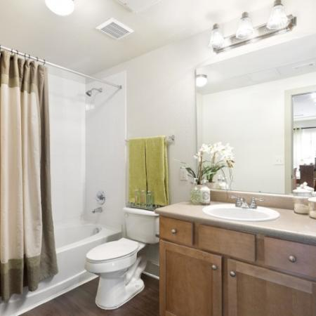 Spacious Bathroom | San Antonio TX Apartment For Rent | Broadstone at Colonnade