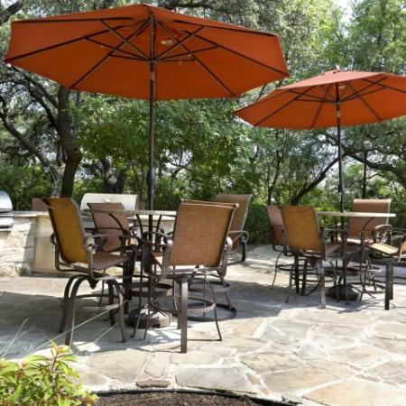 Resident Sun Deck | San Antonio TX Apartment For Rent | Escalante