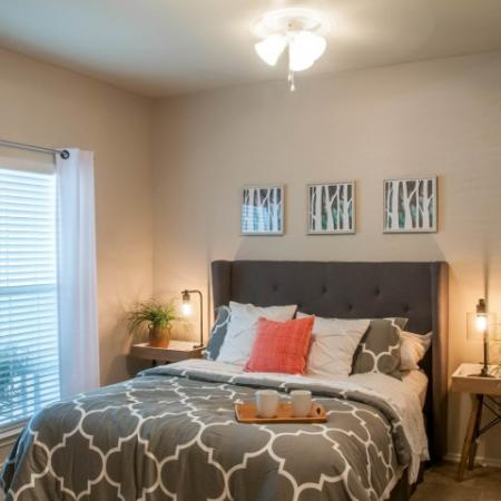 Spacious Bedroom | San Antonio TX Apartment Homes | Escalante