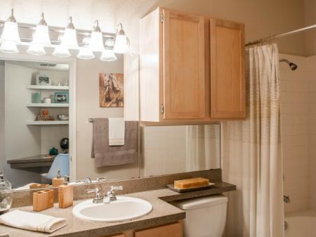 Elegant Master Bathroom | Apartments San Antonio, TX | Escalante