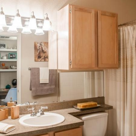Elegant Master Bathroom | Apartments San Antonio, TX | Escalante