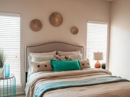 Elegant Bedroom | San Antonio TX Apartment For Rent | Escalante
