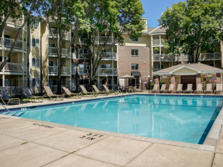 Sparkling Pool | Apartments for rent in St Louis Park, MN | Cityscape