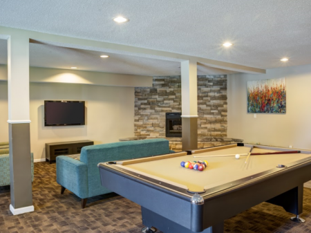 Spacious Resident Club House | Apartment in St Louis Park, MN | Cityscape