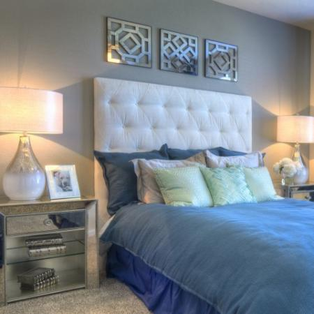 Spacious Master Bedroom | Apartments Homes for rent in Westminster, CO | Bradburn Row Apartments