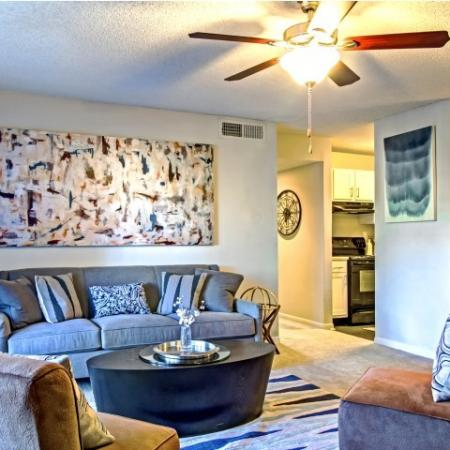 Spacious Living Room | Apartments in Hermitage, TN | Highlands at the Lake