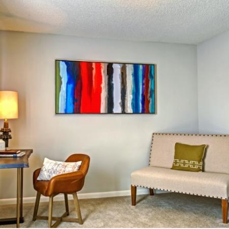 Spacious Guest Bedroom | Apartments in Hermitage, TN | Highlands at the Lake
