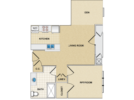 one bedroom apartment in canton