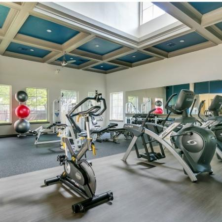State-of-the-Art Fitness Center with Spin Bikes
