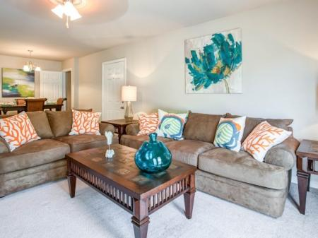 Spacious Living Room | Apartments in Biloxi, MS | Grand Biscayne Apartments