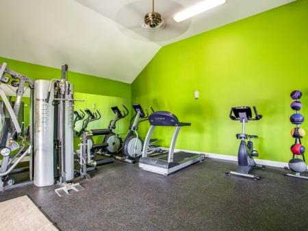 Cutting Edge Fitness Center | Apartments Homes for rent in Biloxi, MS | Grand Biscayne Apartments