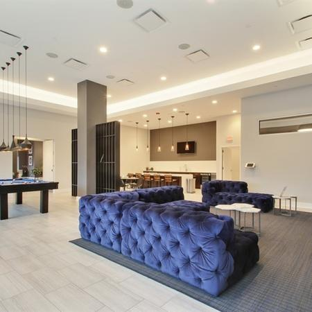 Resident Game Room | Glenview Apartments | Midtown Square