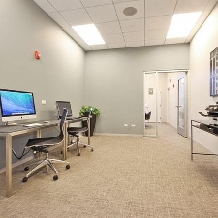 Community Business Center | Glenview Apartments | Midtown Square