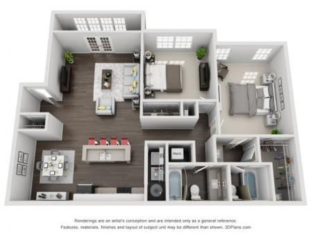 2 Bedroom Renovated