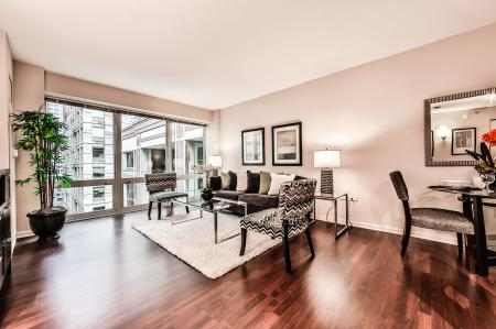 Elegant Living Room | Apartments for rent in Chicago, IL | 215 West Apartments